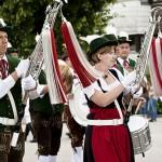 Festzug zur Bürgerwoche in Garching