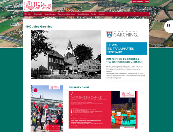 1100-Jahrfeier der Stadt Garching