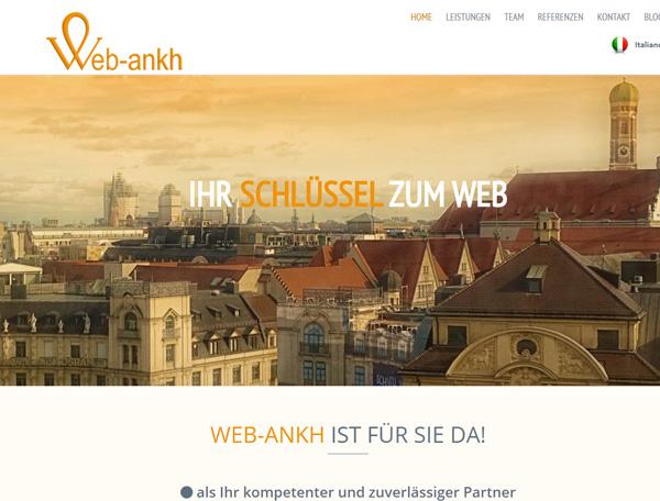 web-ankh – restyling unserer eigenen Seiten