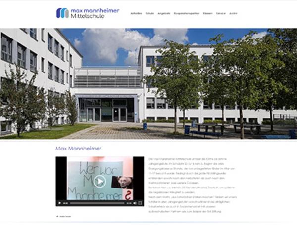 Internetseiten der Max-Mannheimer-Mittelschule jetzt auf wordpress umgestellt