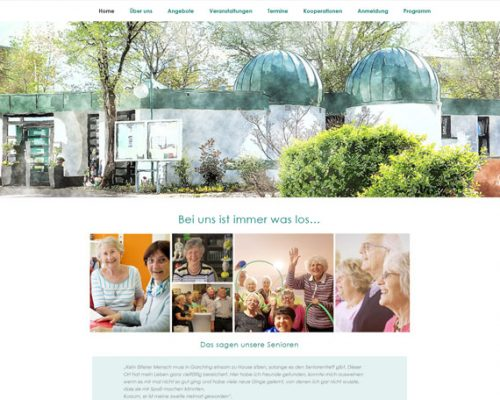 Internetseiten vom Seniorentreff erstrahlen in neuem Glanz