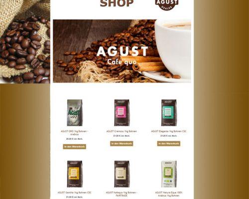Die Kaffeebohne Bayern mit E-Shop